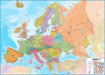 <b>Europa</b>, Landkarte, Pinnwand